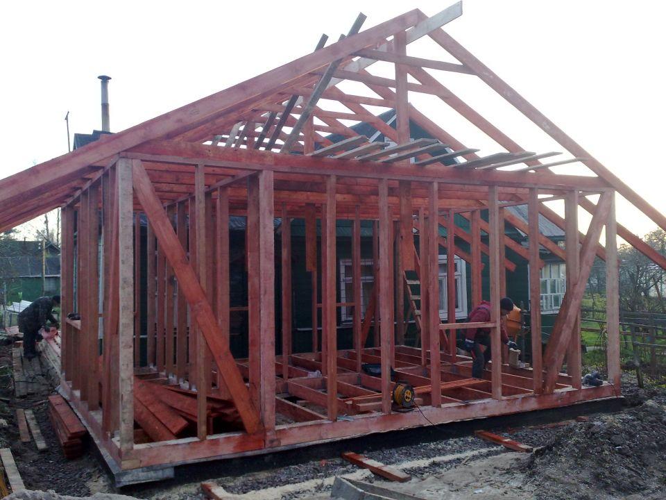 Каркасный дом 5х6 проект своими руками 97
